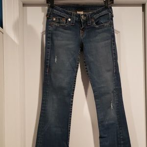 True Religion Flare jeans.  Practically brand new